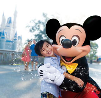 meeting mickey mouse at disney world orlando | 325 x 316 jpeg 76kB